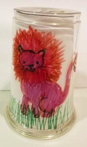 platic cup lion